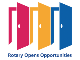 Rotary's slogan this year: Rotary opens opportunities